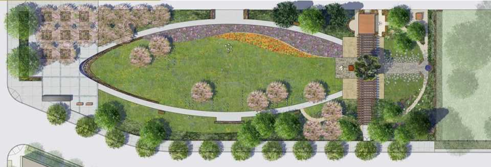 public garden design plans online image arcade
